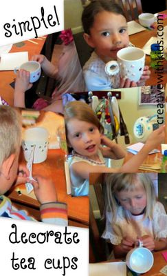 Tea Party Activities- How to Have a Tea Party That's Fun for Moms AND Kids