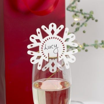 images about christmas on pinterest manzanita snowflakes and place card holders