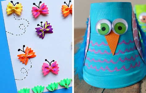 31 Crafts for Kids to Make at Home