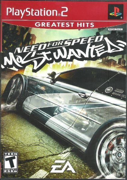 Playstation 2 Need For Speed Most Wanted Sony Slus 21267gh Video Game 2006 Playstation 2 Video Games Playstation Classic Video Games