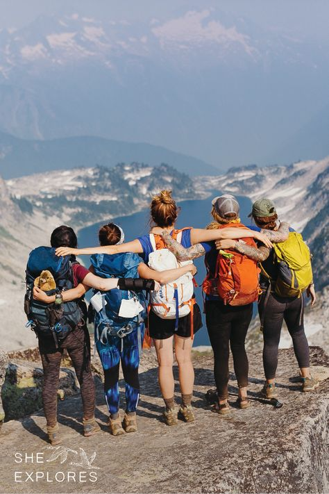 Backpacking In The Cascades The Power Of A Group She Explores Friends Adventures Outdoor Travel Adventure Outdoors Adventure