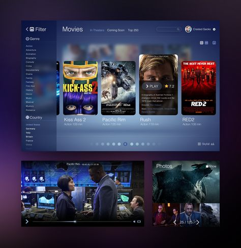 Dribbble - Movie_UI_big.png by Sanadas young