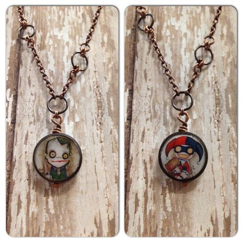 The joker and harley quin on pinterest joker quotes for Harley quinn and joker jewelry