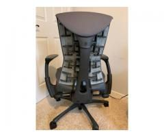 Used Herman Miller Embody Office Desk Chair Graphite Is The Base