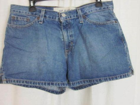 Gap Shorts Size 9 Jr 32x3 Denim Short Shorts Free Shipping #GAP #Denim