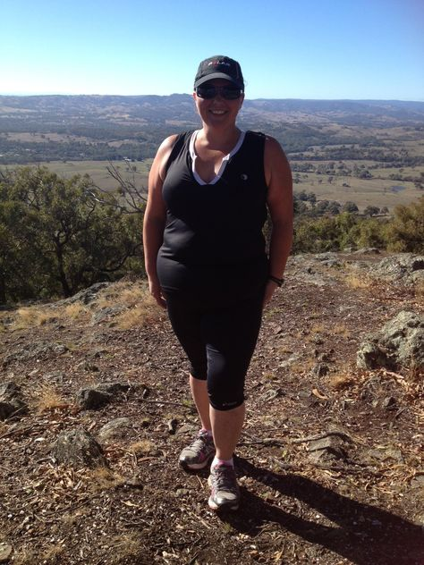 Hiking with a friend to help her train for Oxfam was an ...