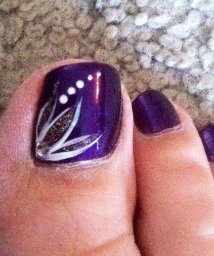 Nails design summer purple 61+  Ideas