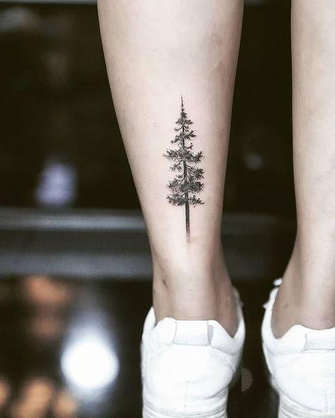 42+ Delicate Vibrant Tree Tattoo Ideas