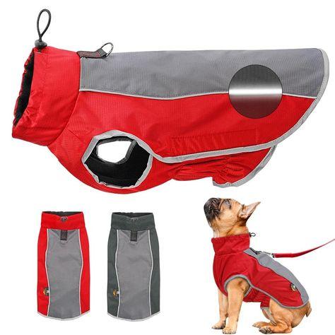 Versatile Reflective Waterproof Dog Jacket
