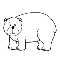 Top 10 Free Printable Brown Bear Coloring Pages Online Bear Coloring Pages Bear Face Drawing Bear Crafts