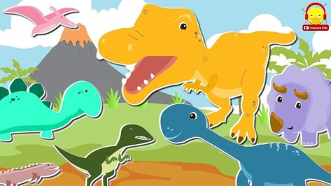 เพลงไดโนเสาร ต วใหญ Big Dinosaur Song เพลงเด กอน บาล Indysong Kids การ ต น ไดโนเสาร เพลง