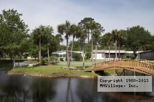 Aqua Isles Retirement Mobile Home RV Resort In Labelle FL