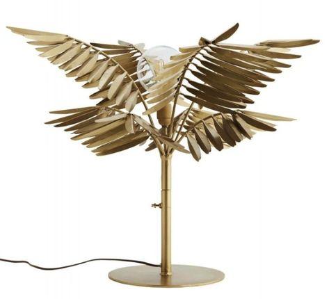 La Lampe Palmier En Laiton En 2020 Avec Images Lampes De Table