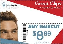 image relating to Great Clips Printable Coupons titled Pin as a result of Dann Curdie upon Coupon codes inside of 2019 Haircut coupon codes