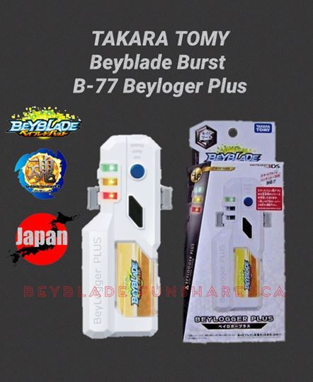 Takara Tomy Beyblade Burst B 77 Beyloger Plus 100 Authentic