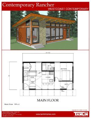 Tamlin Contemporary And West Coast Style Designed Home Plans Build From Our Plans Or Have Our In Ho Tiny House Cabin Tiny House Floor Plans Small House Plans