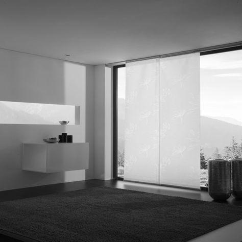 Flächenvorhang Schiebevorhang Comfy Breite 60cm Höhe