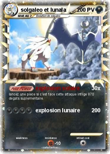 Pokemon Solgaleo Et Lunala Pokémon Soleil Et Lune Pokemon