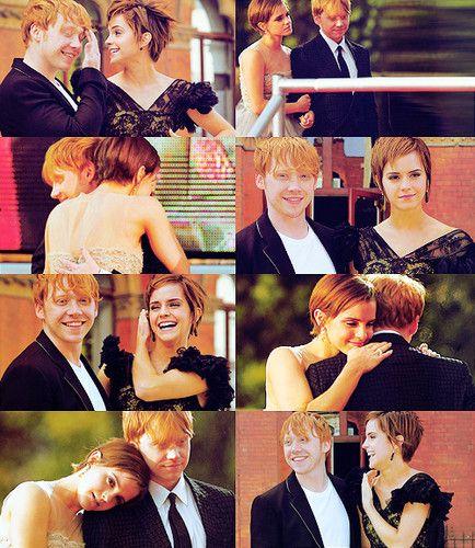 Rupert Grint and Emma Watson Photo: Rupert and Emma