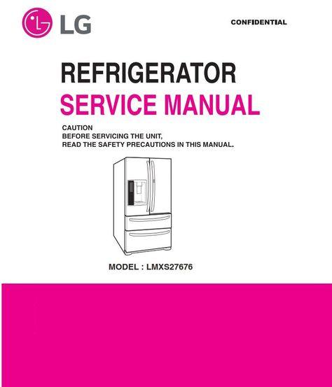 100 best lg refrigerator service manual ideas in 2021