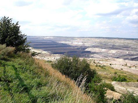 Bełchatów open-pit coal mine