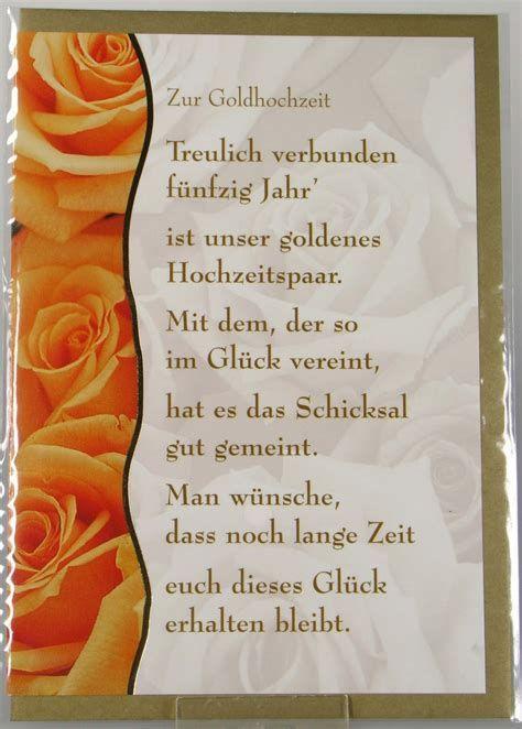 Glückwünsche Zur Goldenen Hochzeit Der Schwester