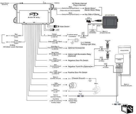 Viper 4105v Wiring Diagram Unique In 2020 Viper Alarm Car Alarm Diagram