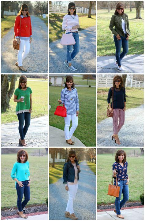 27 Days of Spring Fashion Recap - Cyndi Spivey