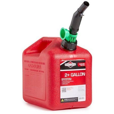 Briggs Stratton Gas Can 2 Gal Red Self Vent Poly 85023g Image 2 Of 5 Gas Cans Canning Gas