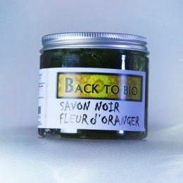 الصابون البلدي بزيت الاركان و زيت زهرة البرتقال العطري Black Soap Coconut Oil Jar Oils
