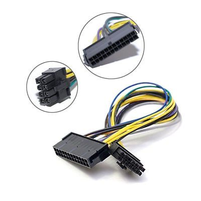 Atx Power Supply Cable 24pin To 8pin For Dell Optiplex 3020 7020 9020 T1700 Hot
