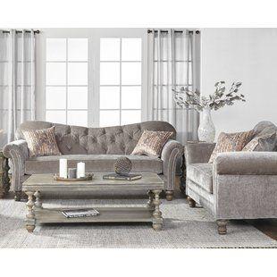 Alcott Hill Agnes 2 Piece Living Room Set Wayfair Elegant Living Room Decor Living Room Furnishings Living Room Sets