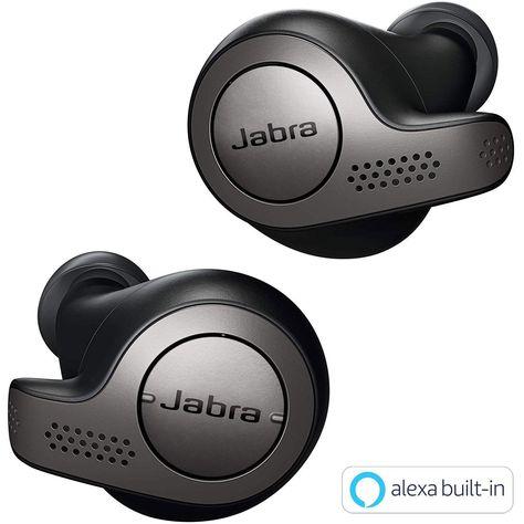 Shopnow Jabra Elite 65t Alexa Enabled True Wireless Earbuds Amazon In Electronics Wireless Earbuds Bluetooth Earbuds Bluetooth Headphones Wireless