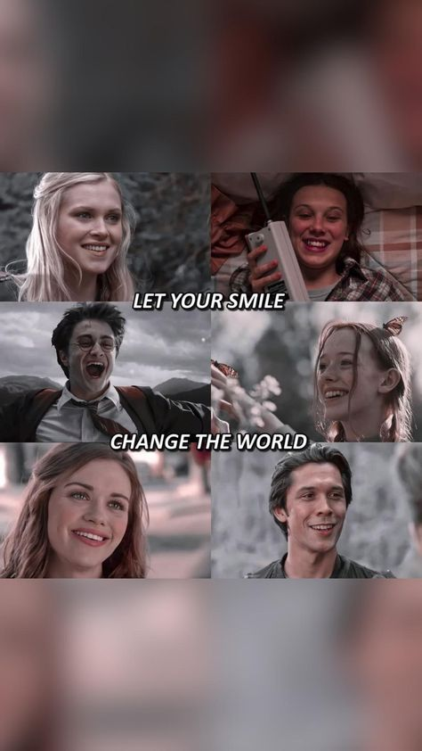 let your smile change the world, don't let the world change your smile
