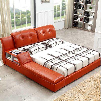 Orren Ellis Muski Upholstered Platform Bed Modern Platform Bed Upholstered Platform Bed Bedroom Furniture Stores