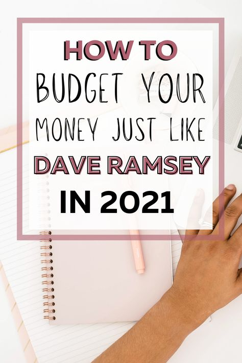 Dave Ramsey Budgeting Percentages: How to Budget Like Dave Ramsey W/ Zero Based Budget Percentages