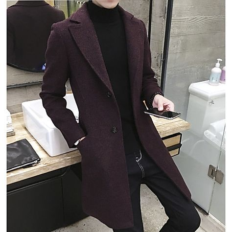 Classic Fashion Men's Trench Coats 2018 Army Red Black Men's Long Trench Slim Fit Overcoats Men's Fashion Trench Outerwear Classic Fashion Men Trenchcoats 2018 Army Red Black Men Long Trench Slim Fit Overcoats Men Fashion Trench Outerwear Mens Fashion Suits, Fashion Outfits, Men's Fashion, Classic Fashion, Winter Fashion, Fashion Trends, Fashion Coat, Cheap Fashion, Work Fashion
