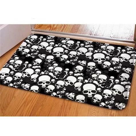 500 Skull Carpets Ideas In 2020 Skull Carpet Skull Rugs On Carpet