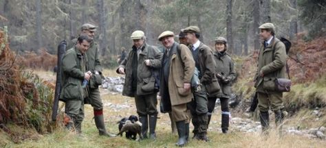 Tulchan Estate pheasant shooting, grouse shooting and deer stalking in the Highlands of Scotland