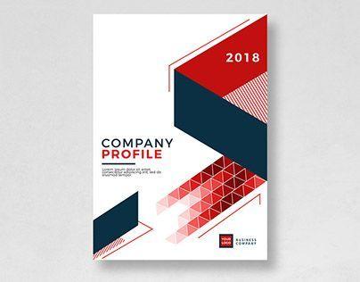 36 Super Ideas For Design Portfolio Cover Page Interior Company Profile Design Templates Graphic Design Portfolio Cover Company Profile Template