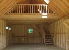 Image result for 16x32 richmond storage shed inside