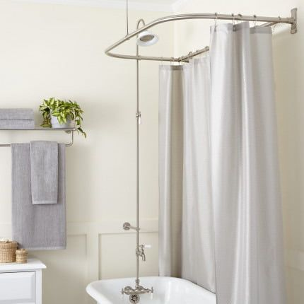Clawfoot Tub To Shower Conversion Kits Signature Hardware In
