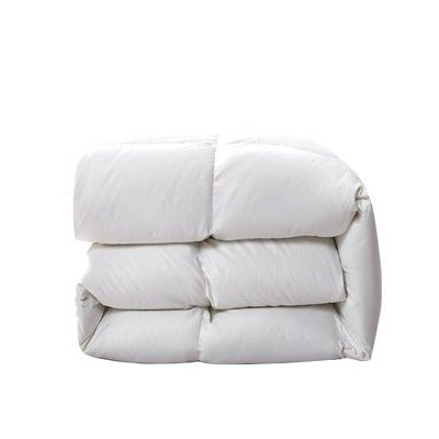 Twin 300 Thread Count Extra Warm Down Fiber Comforter Serta
