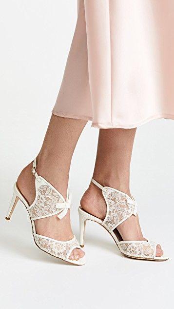 X Jenny Packham Cecelia Sandals Bridal Shoes Sparkly Wedding