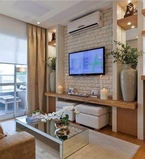 Wohnzimmer Tv Wand Design #steinwand #selberbauen #wohnwand ...
