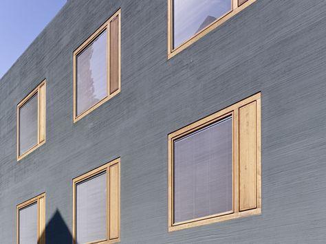 Fancy Best Wohnhaus ideas on Pinterest Fertighaus bauen Schiebetor and Schiebetor