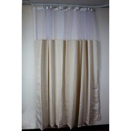 Oxford Oatmeal Or Cork Privacy Cubicle Curtain Quick Ship