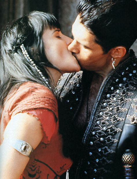 Xena.  Ares.  You know that's how it goes.