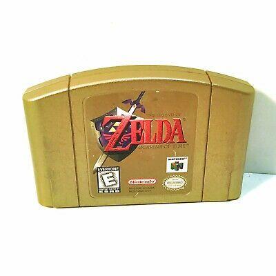 Legend of Zelda: Ocarina of Time Gold Collectors Edition (Nintendo