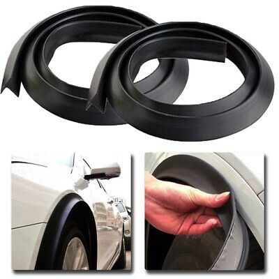 Car Wheel Fender Extension 2 x 1.5m Moulding Flares Trim Strip Stick out Edge US